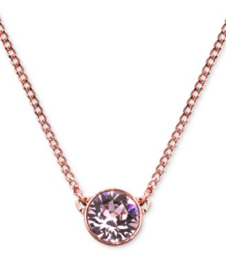 Image of Givenchy Necklace, Swarovski Element Pendant