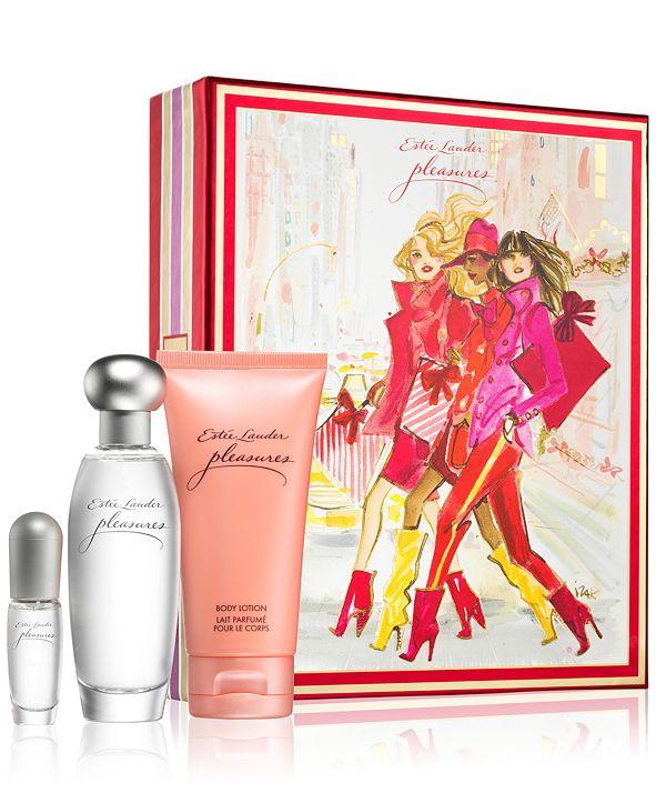 Estee Lauder 3-Pc. Pleasures Favorites Gift Set