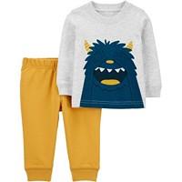 Carter's Baby Boy 2-Piece Monster Jersey Tee & Jogger Pant Set