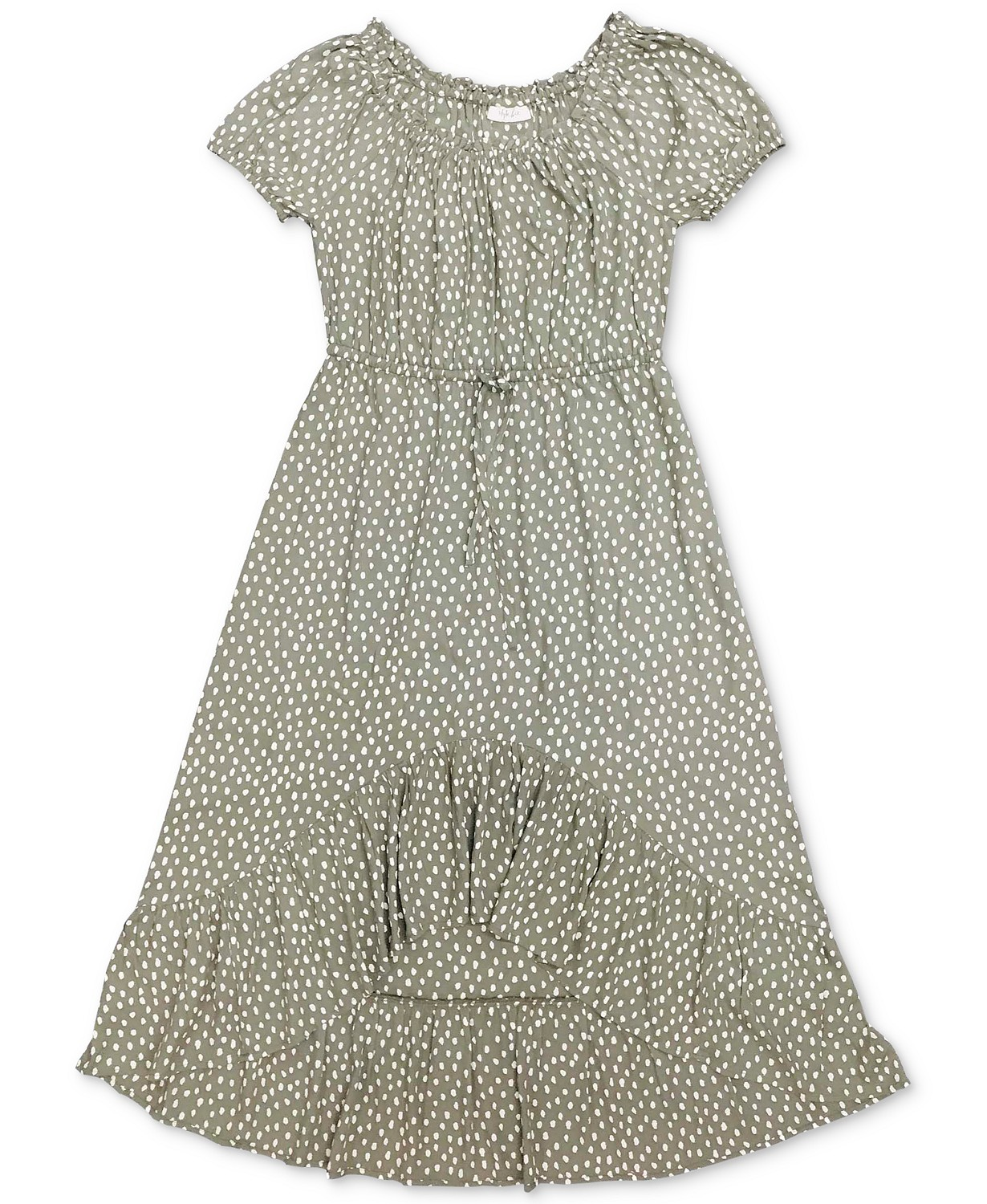Style & Co High-Low Peasant Dress, Created for Macy's