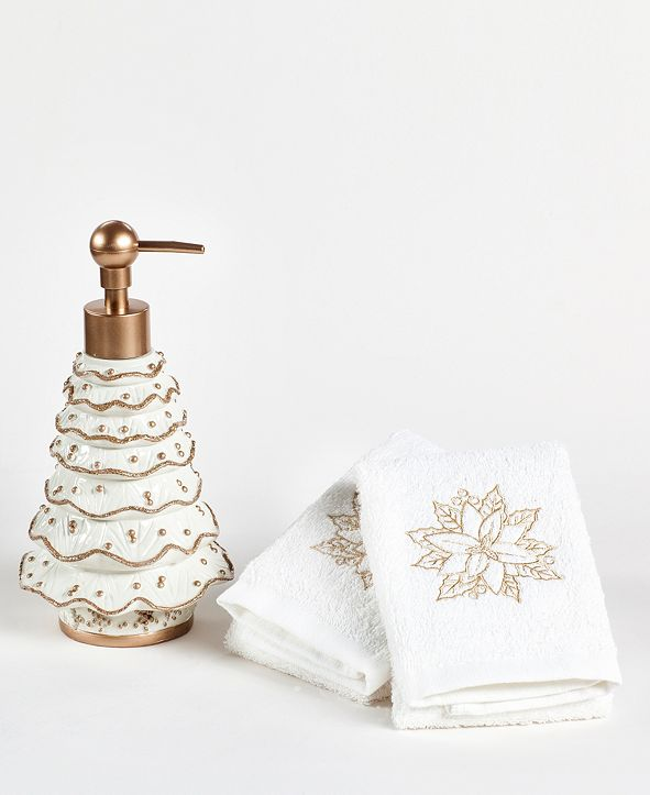 Mistletoe Farms CLOSEOUT! Glamour Tree 3-Pc. Bath Counter Set