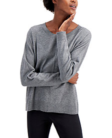 High-Low Dolman-Sleeve Sweater, Created for Macy's