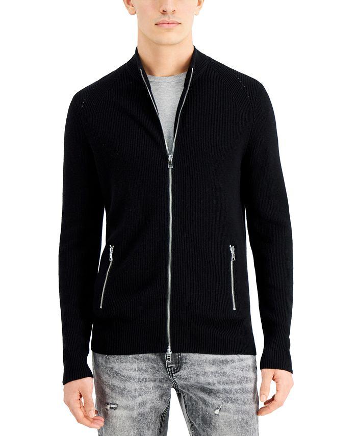 INC International Concepts - Men's Howie Full-Zip Sweater