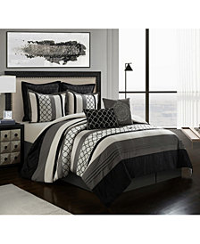 Nanshing Sydney 8-Piece King Comforter Set
