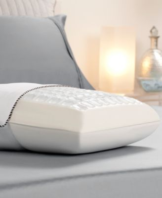 CLOSEOUT! Comfort Revolution Cooling Cubes Hydraluxe Gel & Memory Foam Pillow