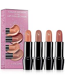 Lancôme 4-Pc. Color Design Lip Set