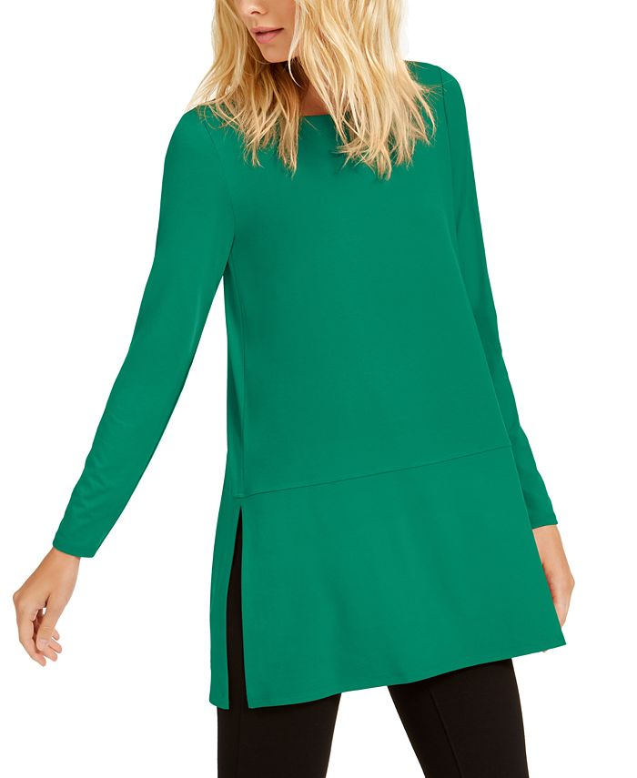 Eileen Fisher - Boat-Neck Tunic Top