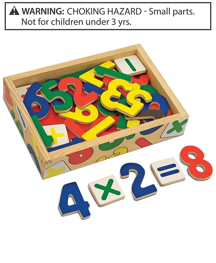 Melissa and Doug - Kids Toy, Magnetic Wooden Numbers