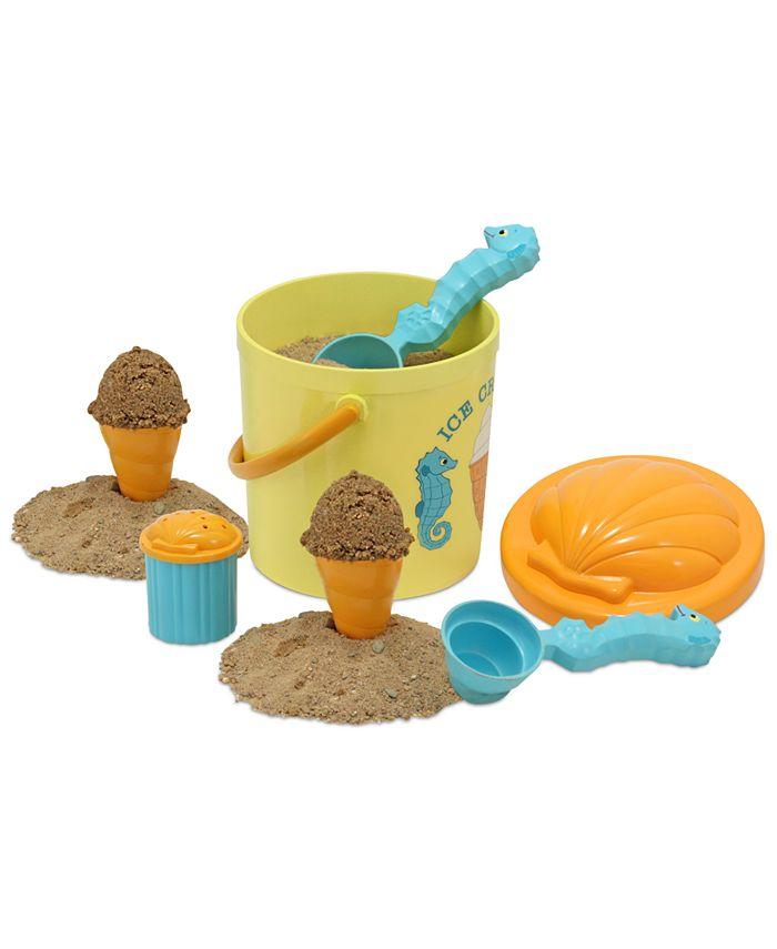 Melissa and Doug - Kids Toy, Speck Seahorse Sand Ice Cream Set