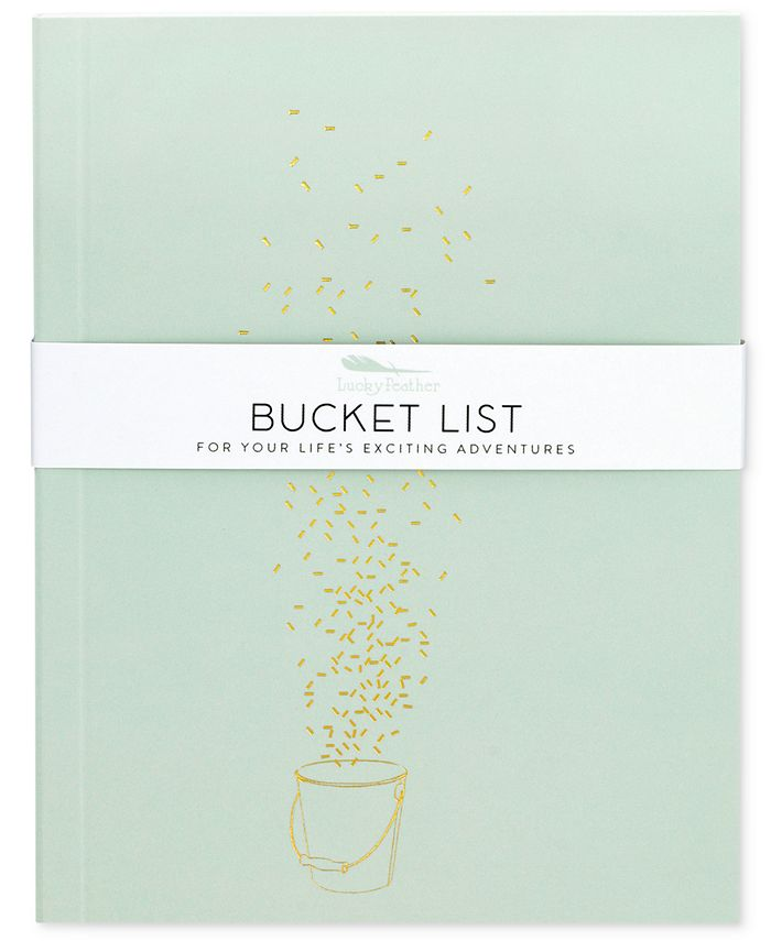 LUCKY FEATHER - Delightful Journals Bucket List