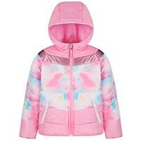 S Rothschild & CO Big Girls Tie Dye Colorblock Jacket