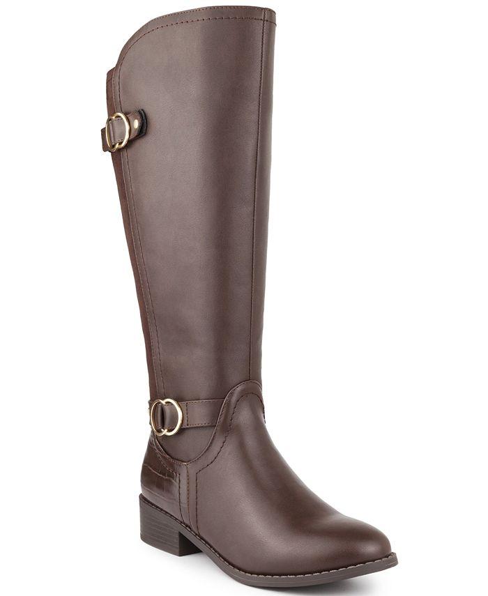 Karen Scott - Leandraa Wide-Calf Riding Boots