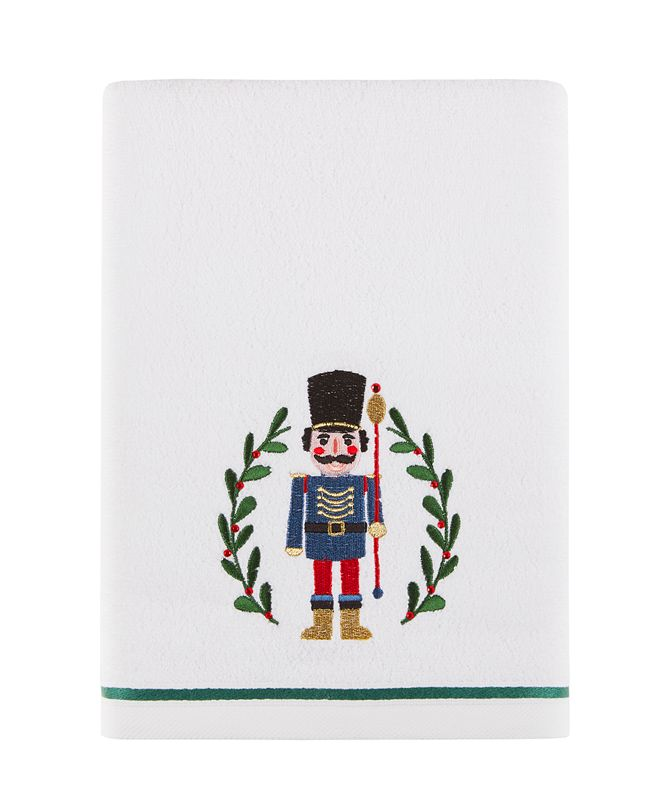 "Martha Stewart Collection Nutcracker 27"" x 50"" Bath Towel, Created for Macy's"