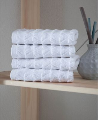 Azure Collection Washcloths 4-Pack