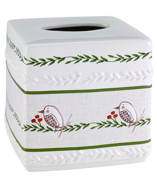 Avanti Dena Home Evergreen Tissue Cover