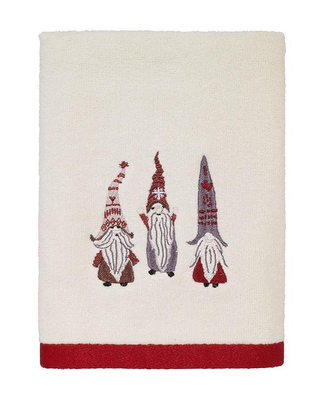 Avanti Christmas Gnomes Hand Towel