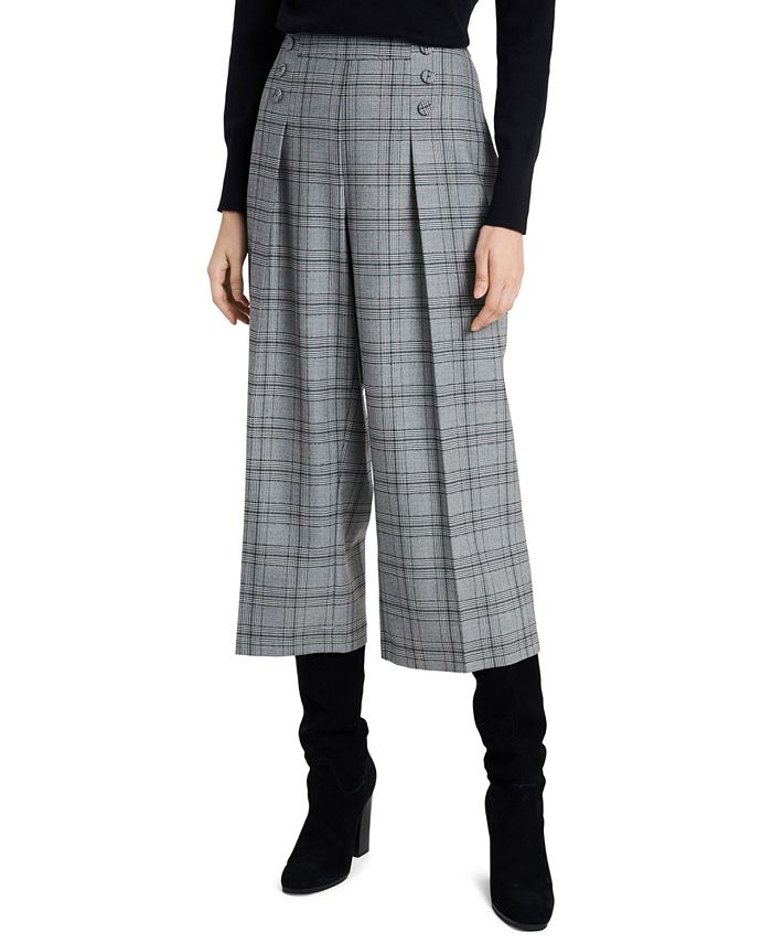 Riley & Rae - Sydney Plaid Culottes