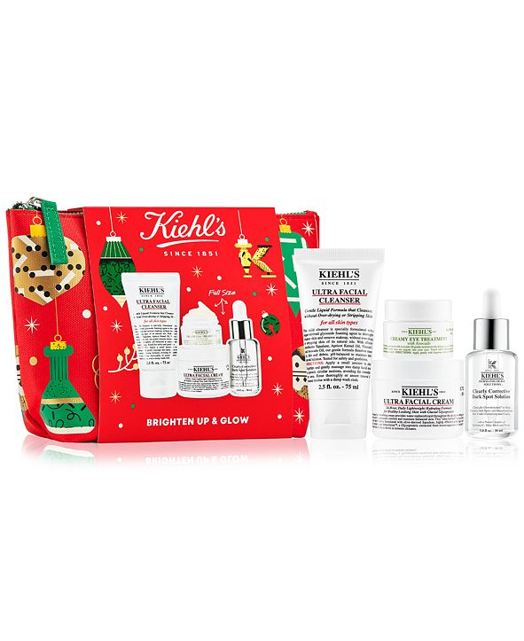 Kiehl's Since 1851 4-Pc. Brighten Up & Glow Set