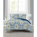 Mytex Deena Reversible Comforter Set (King/Queen/Full/Twin)
