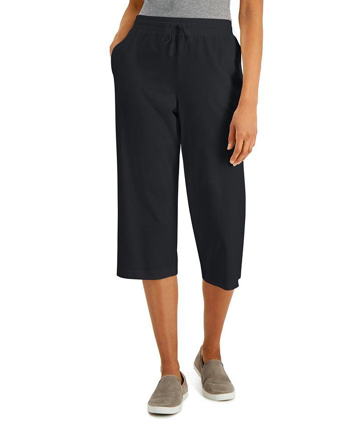 Karen Scott - Knit Capri Pants