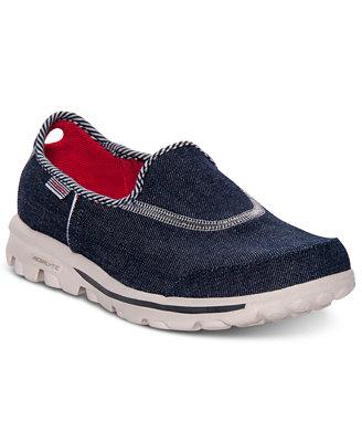 skechers s gowalk quot americana quot walking sneakers