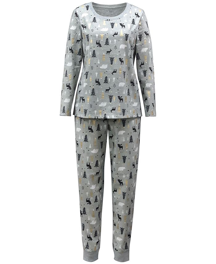 Family Pajamas - Tree-Print Pajama Set