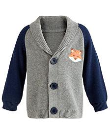 First Impressions Baby Boys Shawl-Collar Cardigan, Created for Macy's