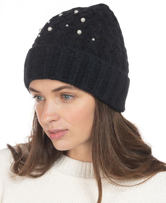 INC International Concepts INC Embellished Beanie, Created for Macy's