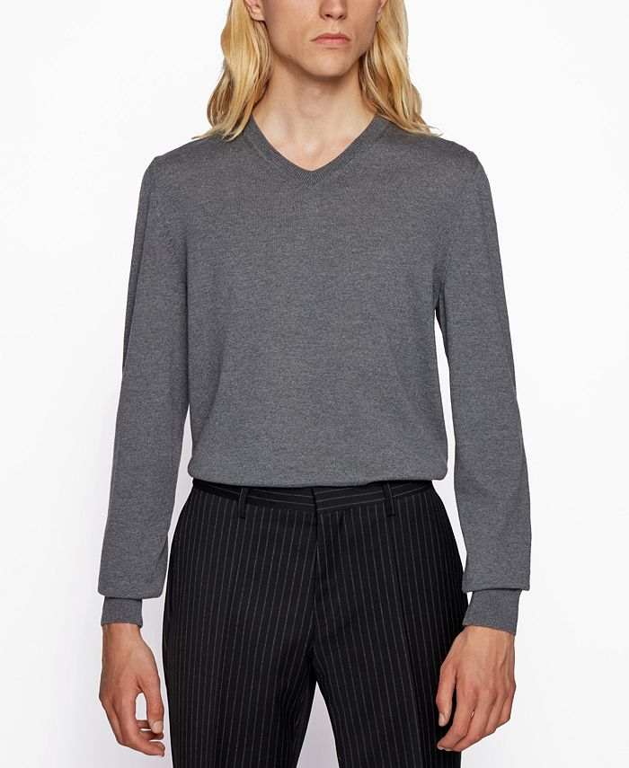 Hugo Boss - Men's Baram V-Neck Sweater