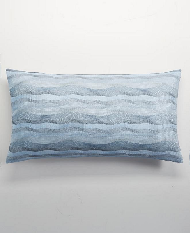 """Hotel Collection Parallel 14"""" x 26"""" Decorative Pillow, Created for Macy's"""