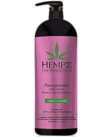 Hempz Pomegranate Herbal Conditioner, 33-oz., from PUREBEAUTY Salon & Spa