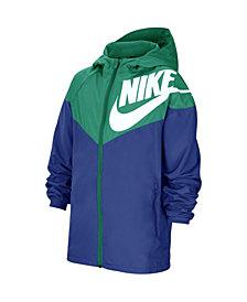 Nike Big Boys Sportswear Wind Runner Jacket