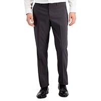 Perry Ellis Men's Portfolio Modern Fit Plaid Performance Pants