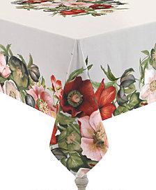 Laural Home Vintage Petals 70x84 Tablecloth