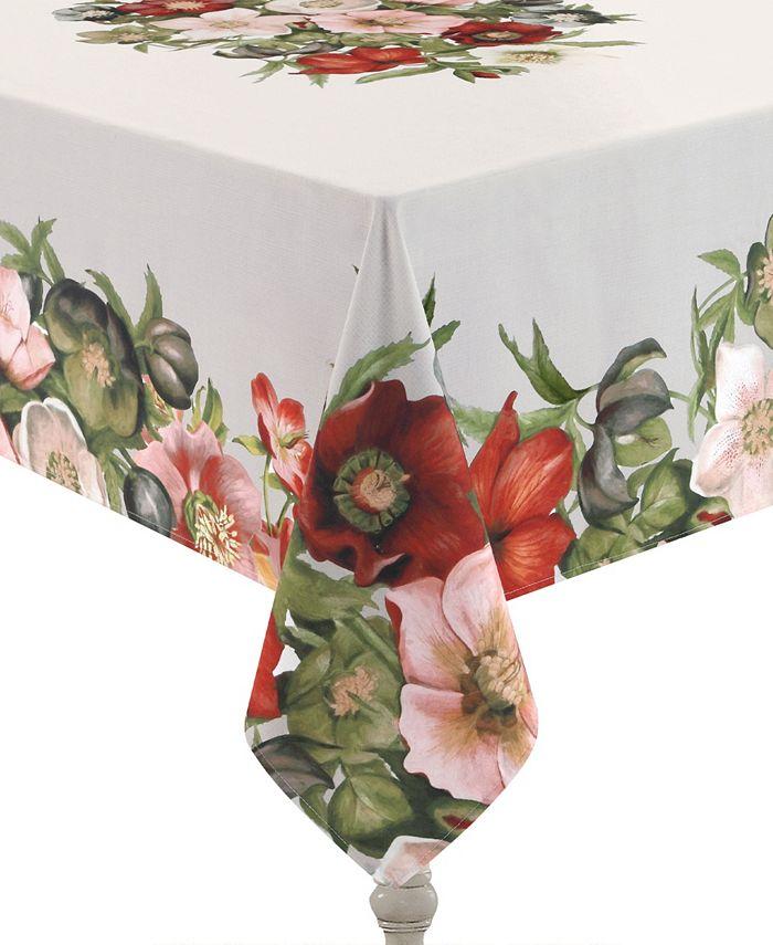 Laural Home - Vintage Petals 70x84 Tablecloth