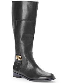 Lauren Ralph Lauren Women's Berdie Riding Wide-Calf Boots