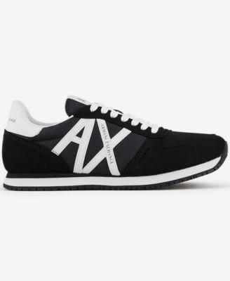 A X Armani Exchange Men's Logo Sneakers