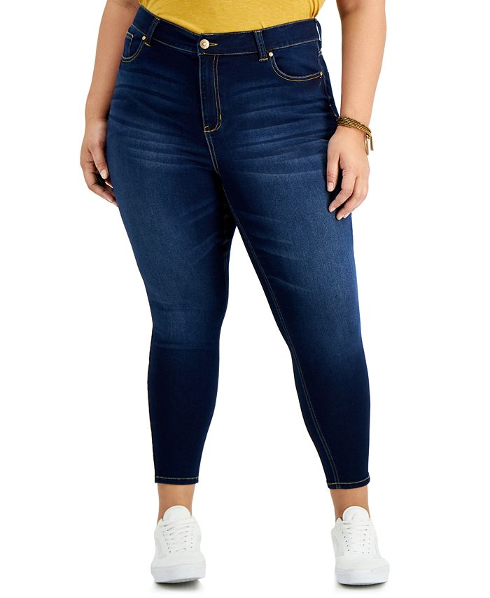 Celebrity Pink - Trendy Plus Size Skinny Ankle Jeans