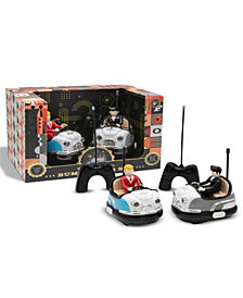 FAO Schwarz Toy RC Bumper Car Set Retro