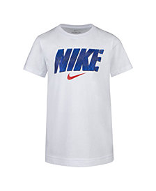 Nike Toddler Boys Metallic Logo Graphic T-Shirt