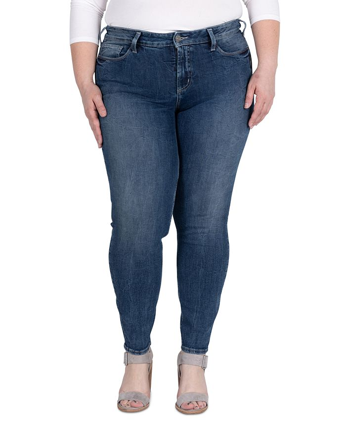Silver Jeans Co. - Trendy Plus Size Elyse Skinny Jeans