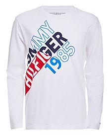 Tommy Hilfiger Little Boys Split Long Sleeve T-Shirts