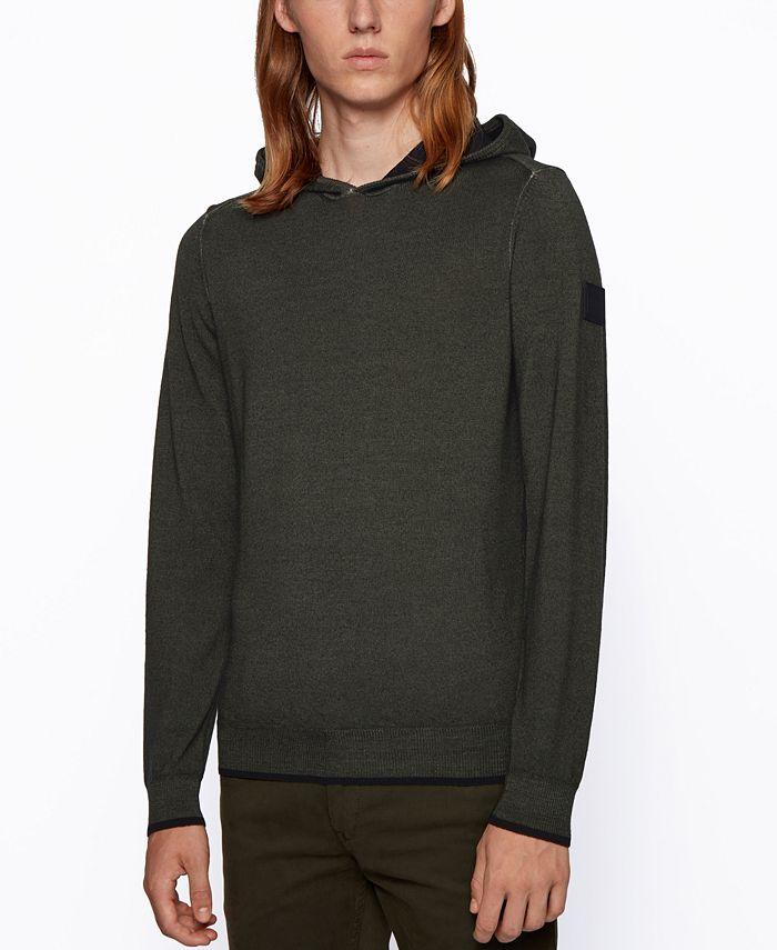 Hugo Boss - Men's Kapuko Regular-Fit Sweater