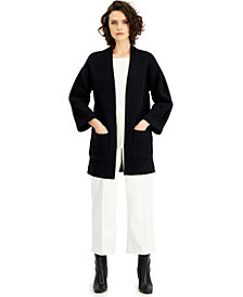 Alfani Pocket Open Front Cardigan, Created for Macy's