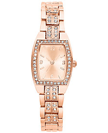 Charter Club Women's Rose Gold-Tone Bracelet Watch 28mm, Created for Macy's