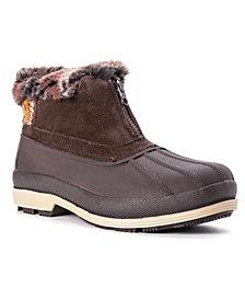 Propét Women's Lumi Ankle Zip Cold Weather Boots