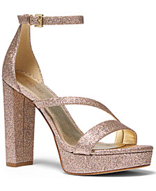 Michael Michael Kors Tanner Platform Sandals