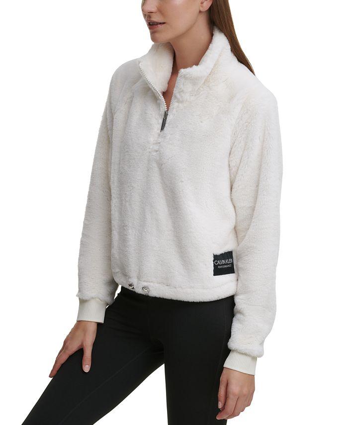 Calvin Klein - Fleece Pullover Top
