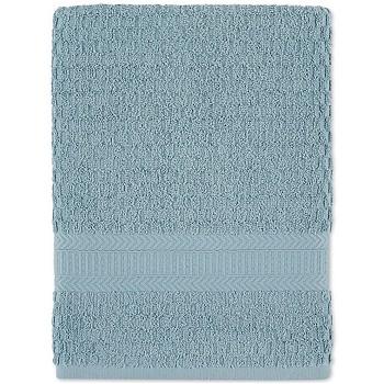 Divatex Cotton Textured Quick-Dry 27 x 52 Inch Bath Towel