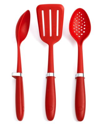 Martha Stewart Collection 3 Piece Raised Kitchen Utensil Set